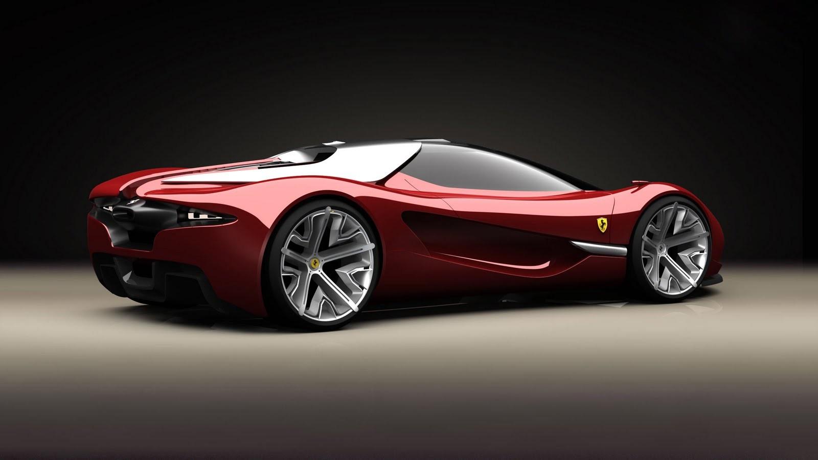 Wallpaper 1600x900 Ferrari Supercars Concept Cars Ferrari Xezri 1600x900