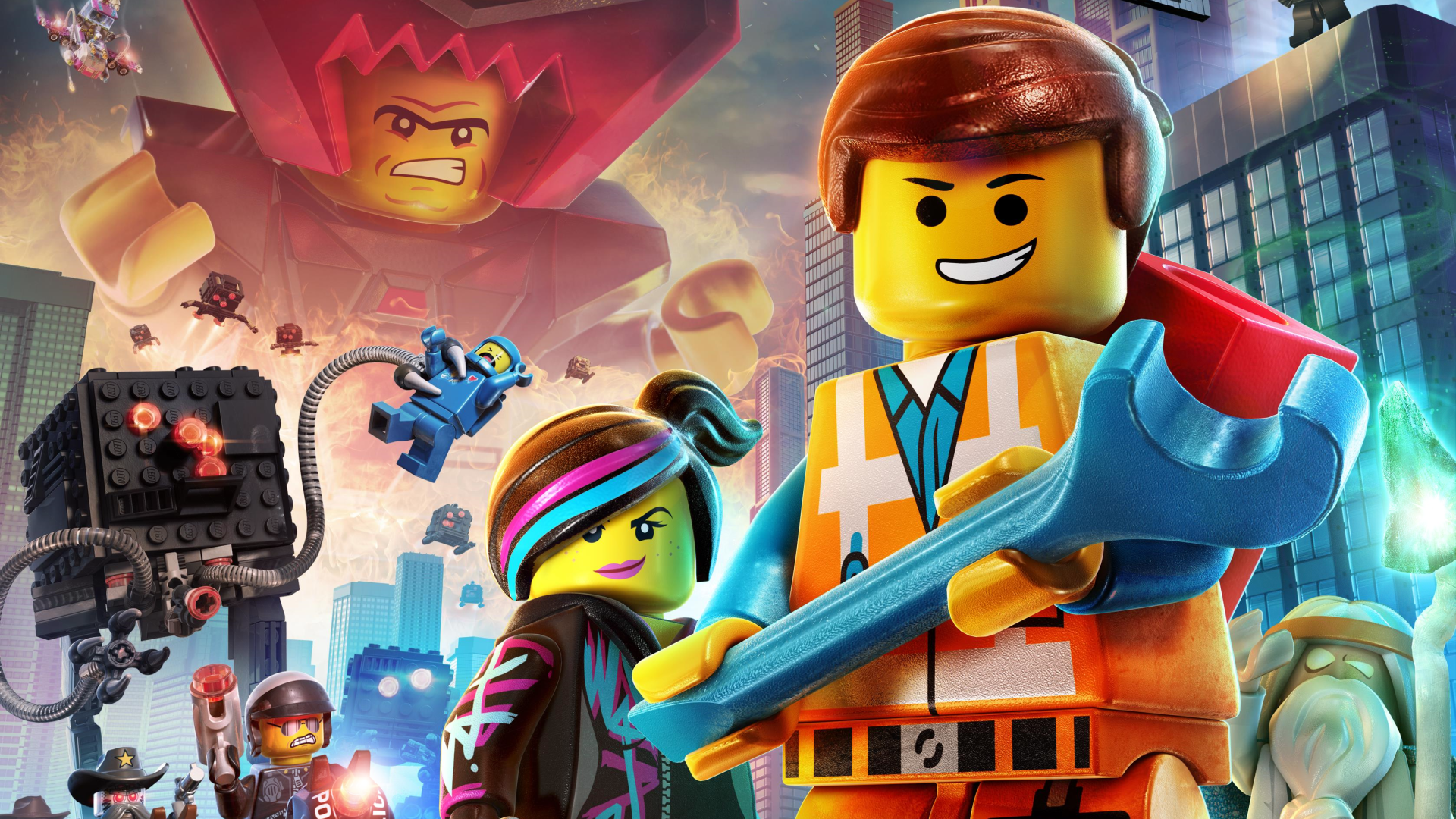 Weekly Wallpaper Put Some LEGO People On Your Desktop Lifehacker 1920x1080