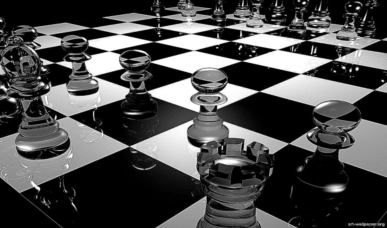Chess board wallpaper wallpapersafari chess 3d wallpapers hd wallpaper background gallery voltagebd Choice Image