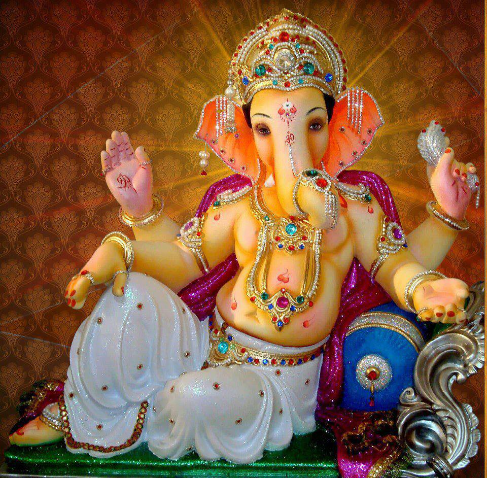 Shri Ganesh Hd Wallpaper: Ganpati Wallpaper HD