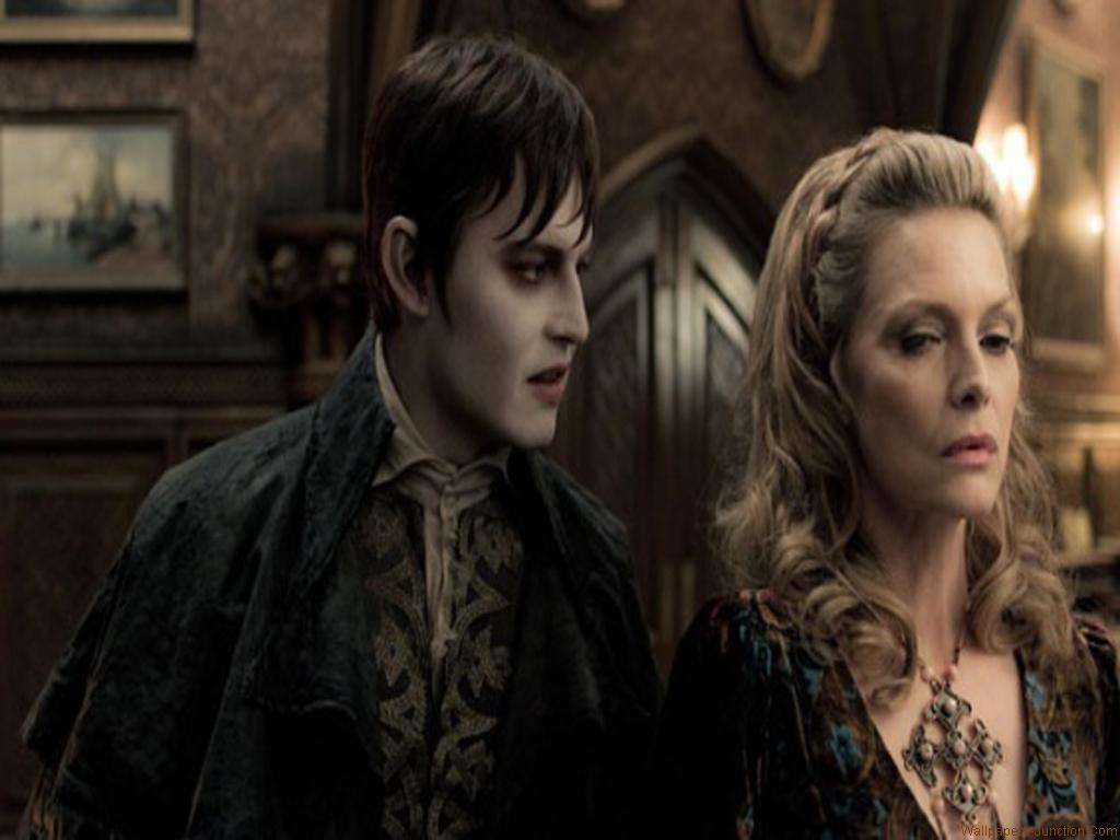 Hollywood Wallpapers Johnny Depp In Dark Shadows   Wallpapers 1024x768