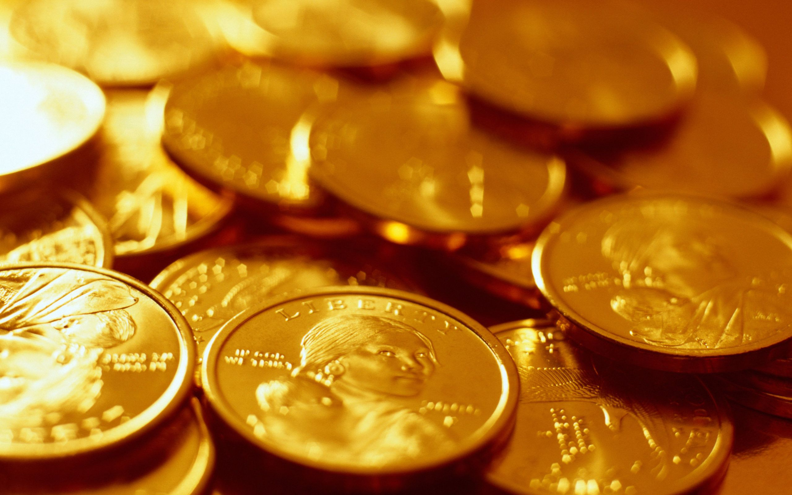 Gold Coin Wallpapers   Top Gold Coin Backgrounds 2560x1600