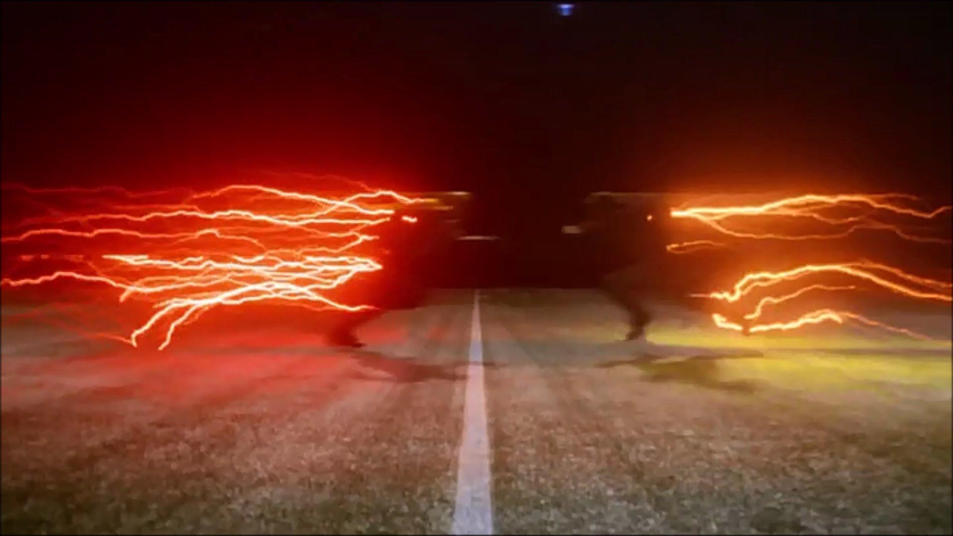 The Flash vs Professor Zoom 1920x1080