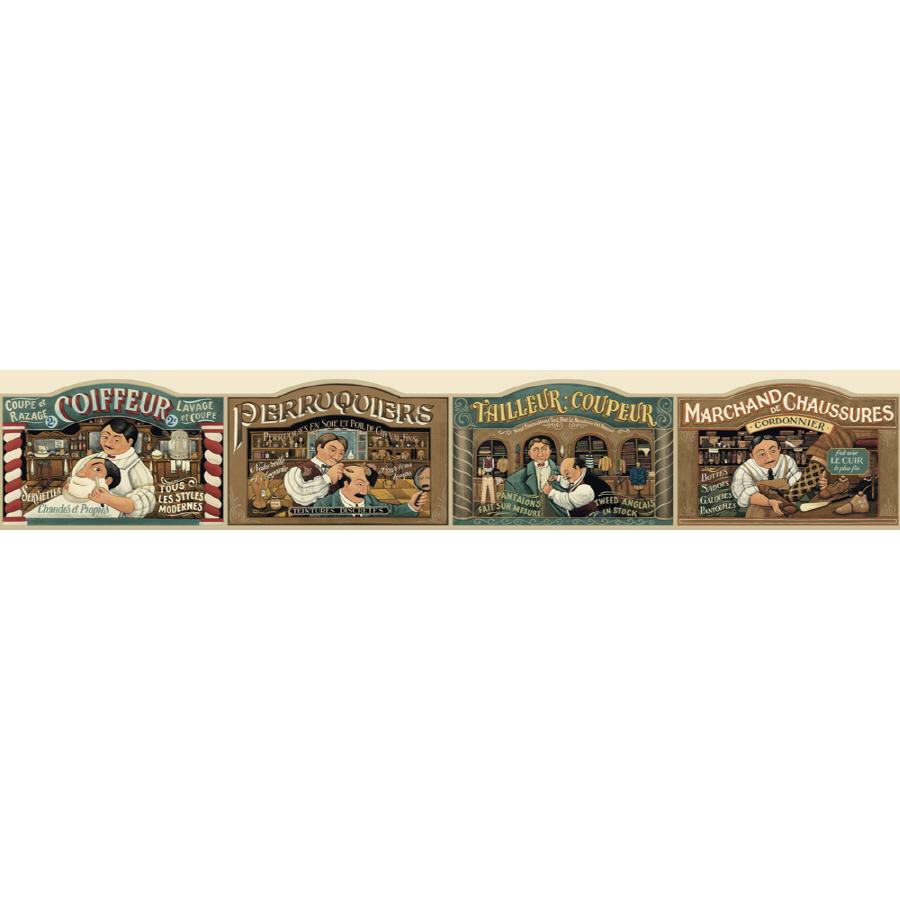 Sunworthy 4 58 Barbershop Prepasted Wallpaper Border at Lowescom 900x900