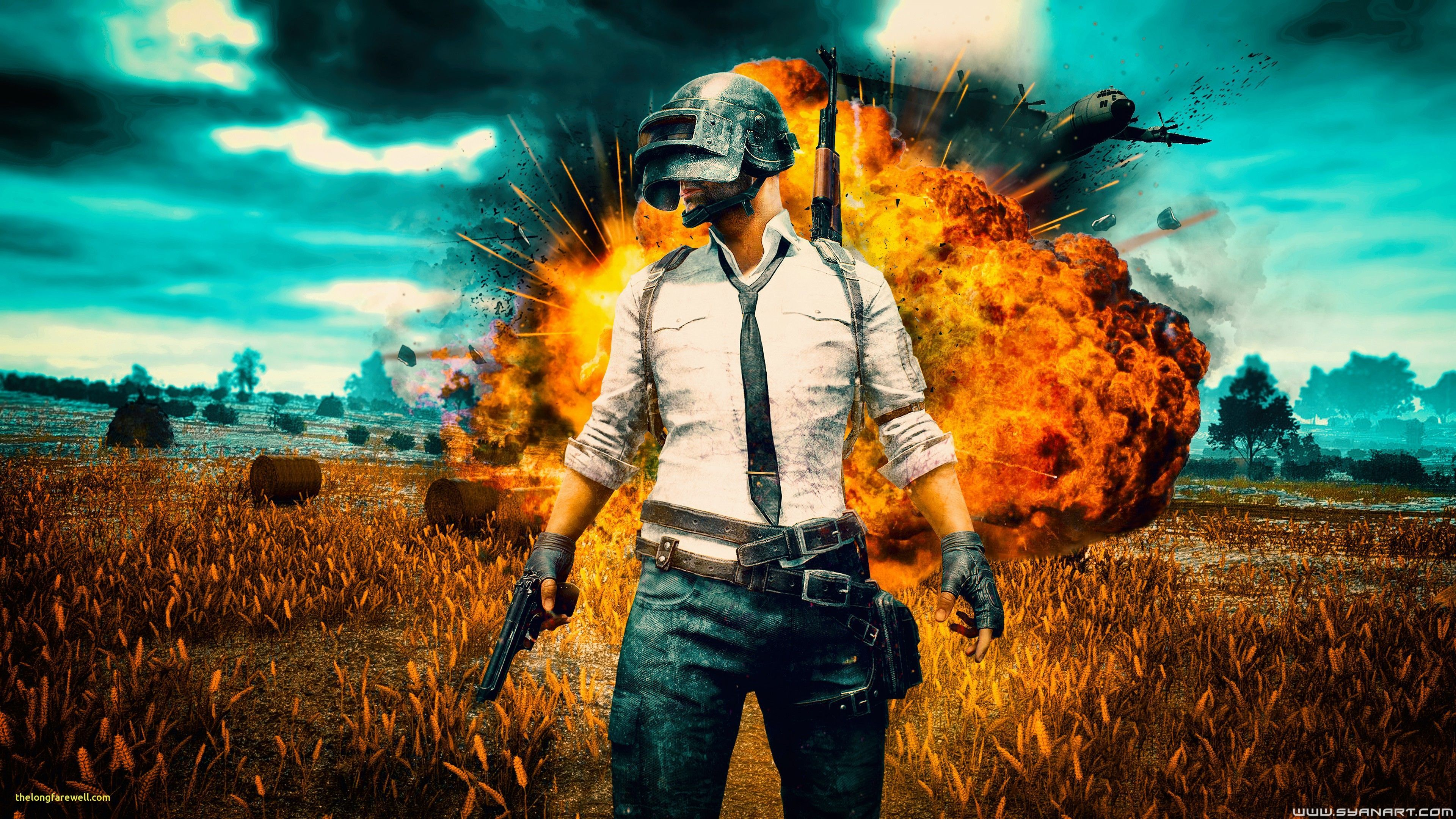 PUBG 4K Wallpapers iPhone Android and Desktop   The RamenSwag 3840x2160