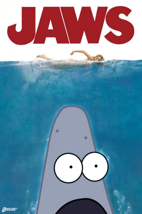 Surprised Patrick Star Movie Surprised Patrick Movie Poster 600x899