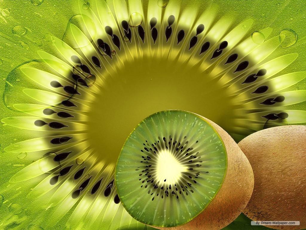 Kiwi Fruit Wallpaper   Fruit Wallpaper 7004620 1024x768