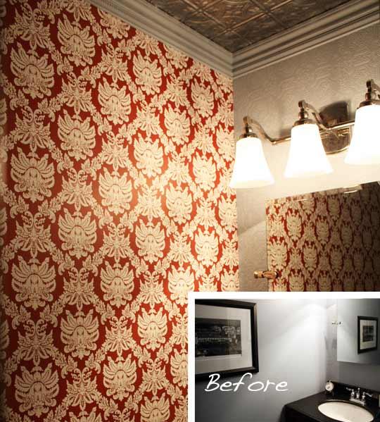 Home Depot Wallpaper Home Design Ideas 540x599