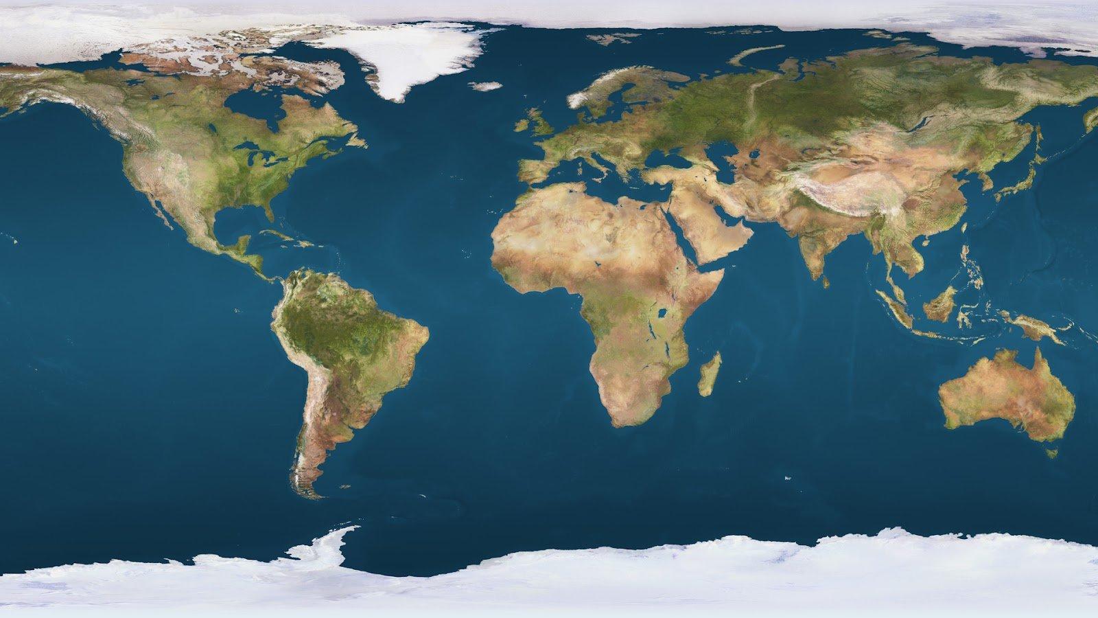 74+] World Map Wallpaper High Resolution on WallpaperSafari
