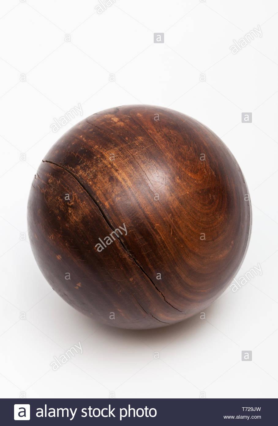 wood ball croquet on white background Stock Photo 245299233   Alamy 908x1390