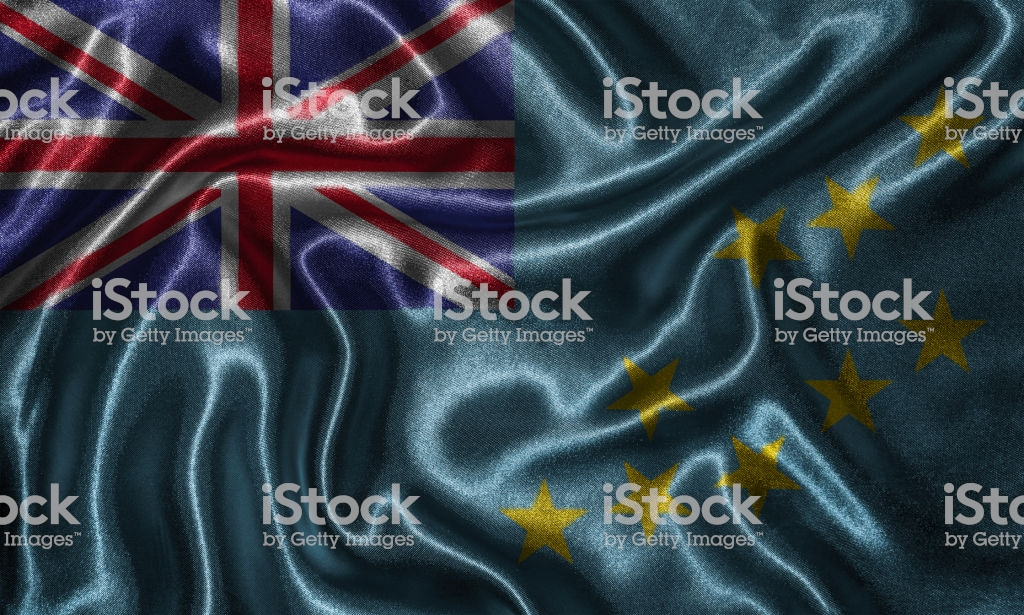 Wallpaper By Tuvalu Flag And Waving Flag By Fabric Stock Photo 1024x615