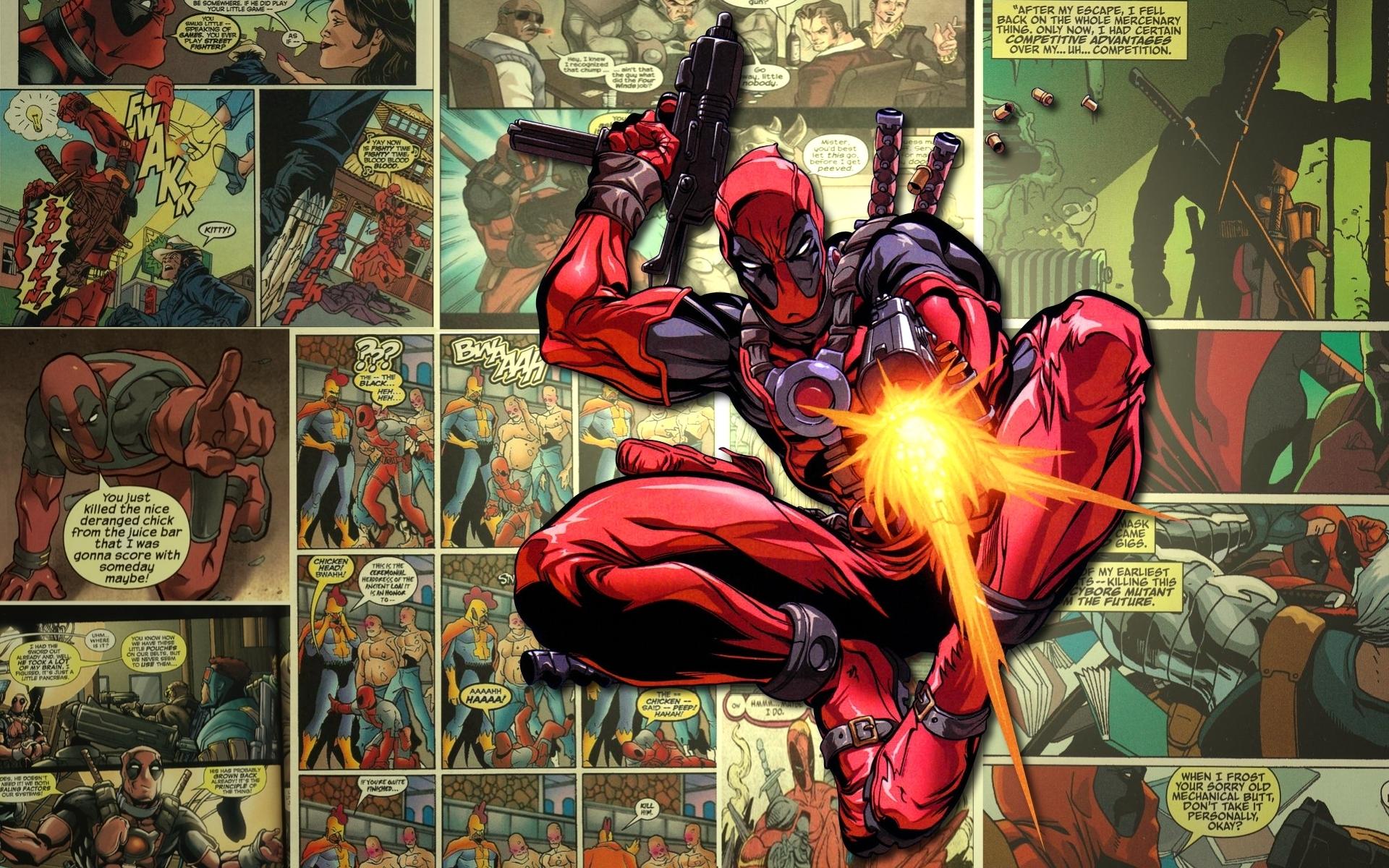 43 Funny Deadpool Wallpapers On Wallpapersafari