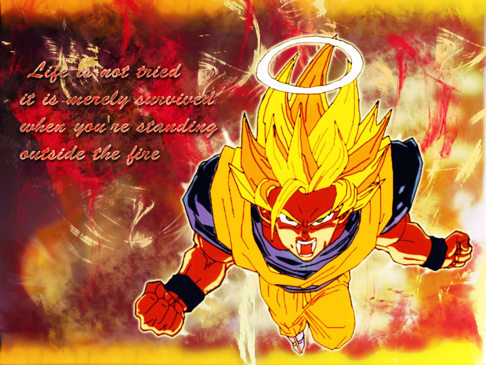Awesome dbz wallpapers wallpapersafari - Images dragon ball z ...