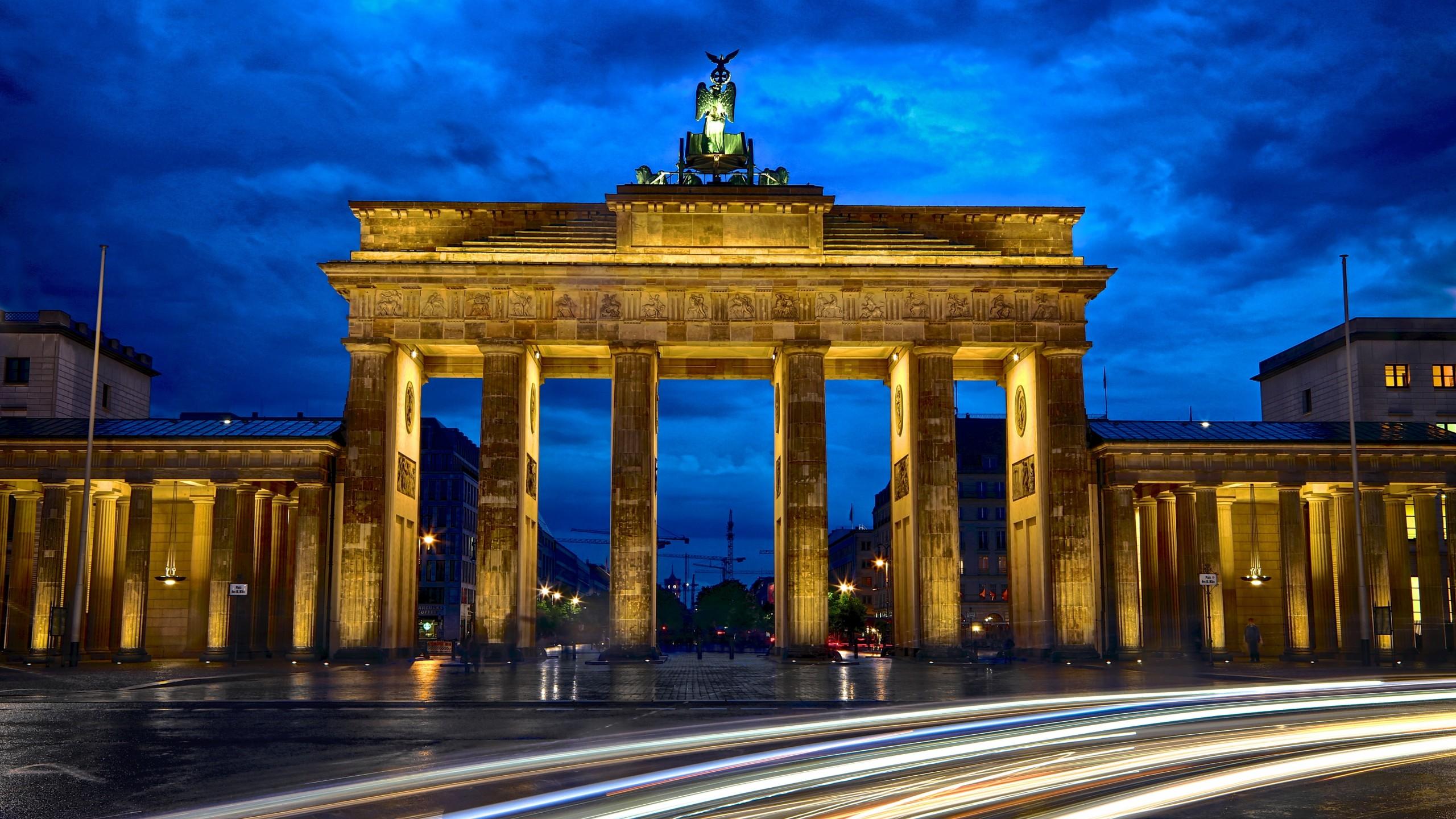 brandenburg gate 25601440 berlin germany 5k 2887 Pharma 2560x1440