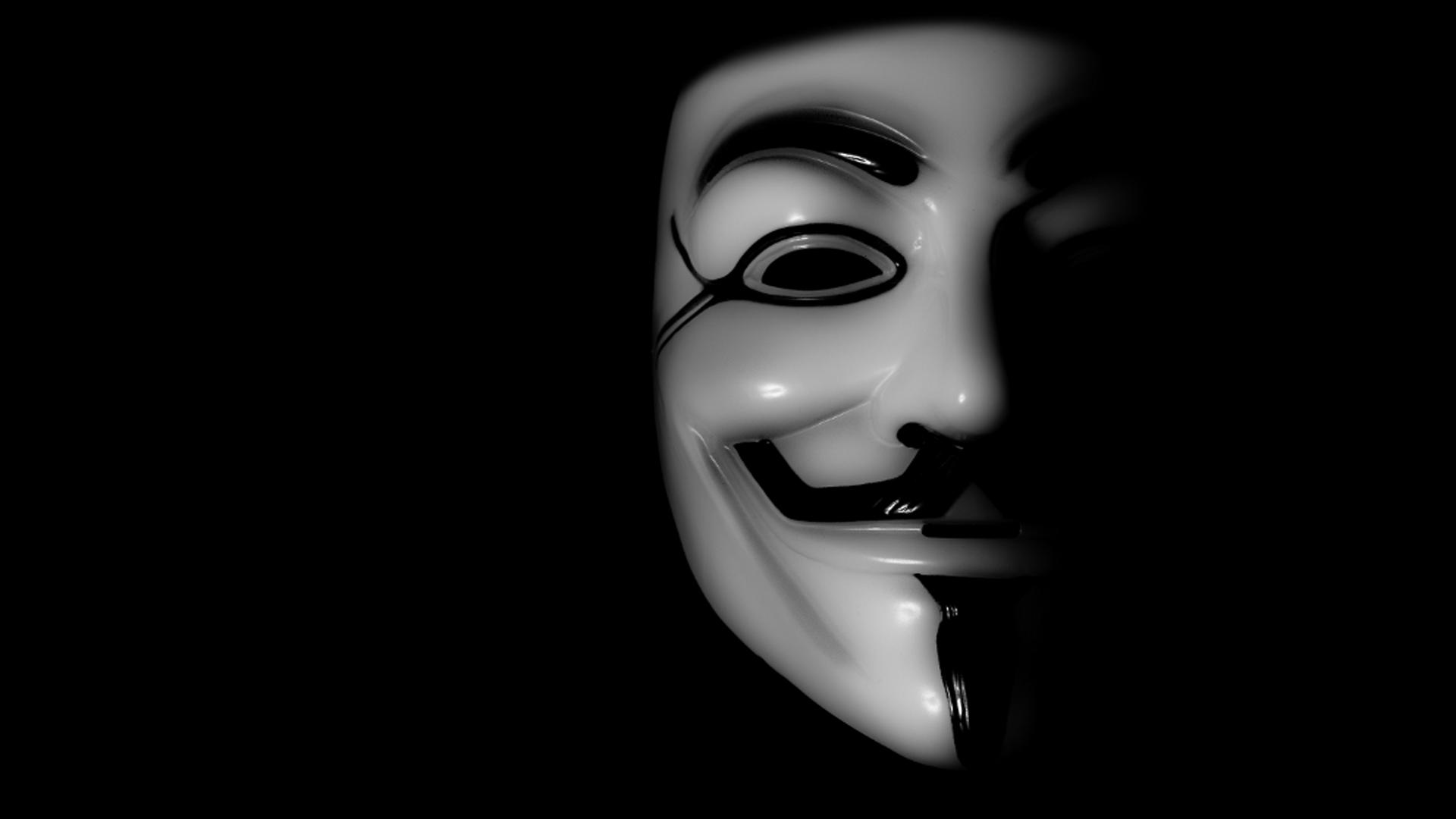 Hd wallpaper joker - Anonymous Hd Wallpaper 1920x1080 Wallpapersafari