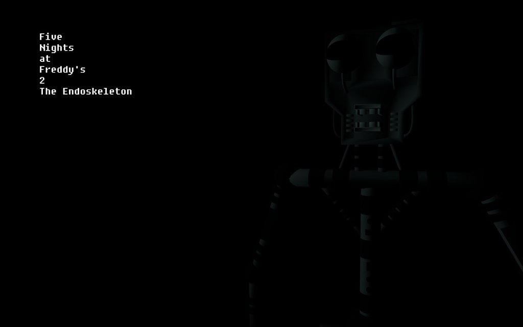 Gmod] FNAF 2 Wallpaper The Endoskeleton by Movie Photo Maker97 on 1024x640