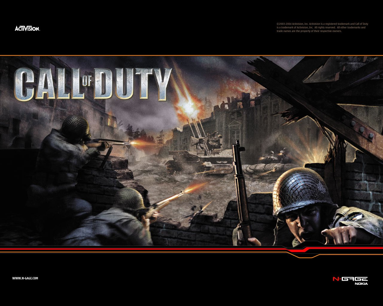 Call of Duty 2004 promotional art   MobyGames 1280x1024
