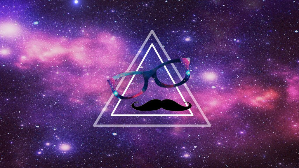wall hipster galaxy by SuperNahuee 1024x576
