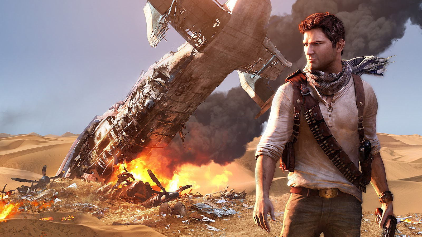 wallpapers2 Uncharted 3 Drakes Deception Wallpapers in HD 1080p 1600x900