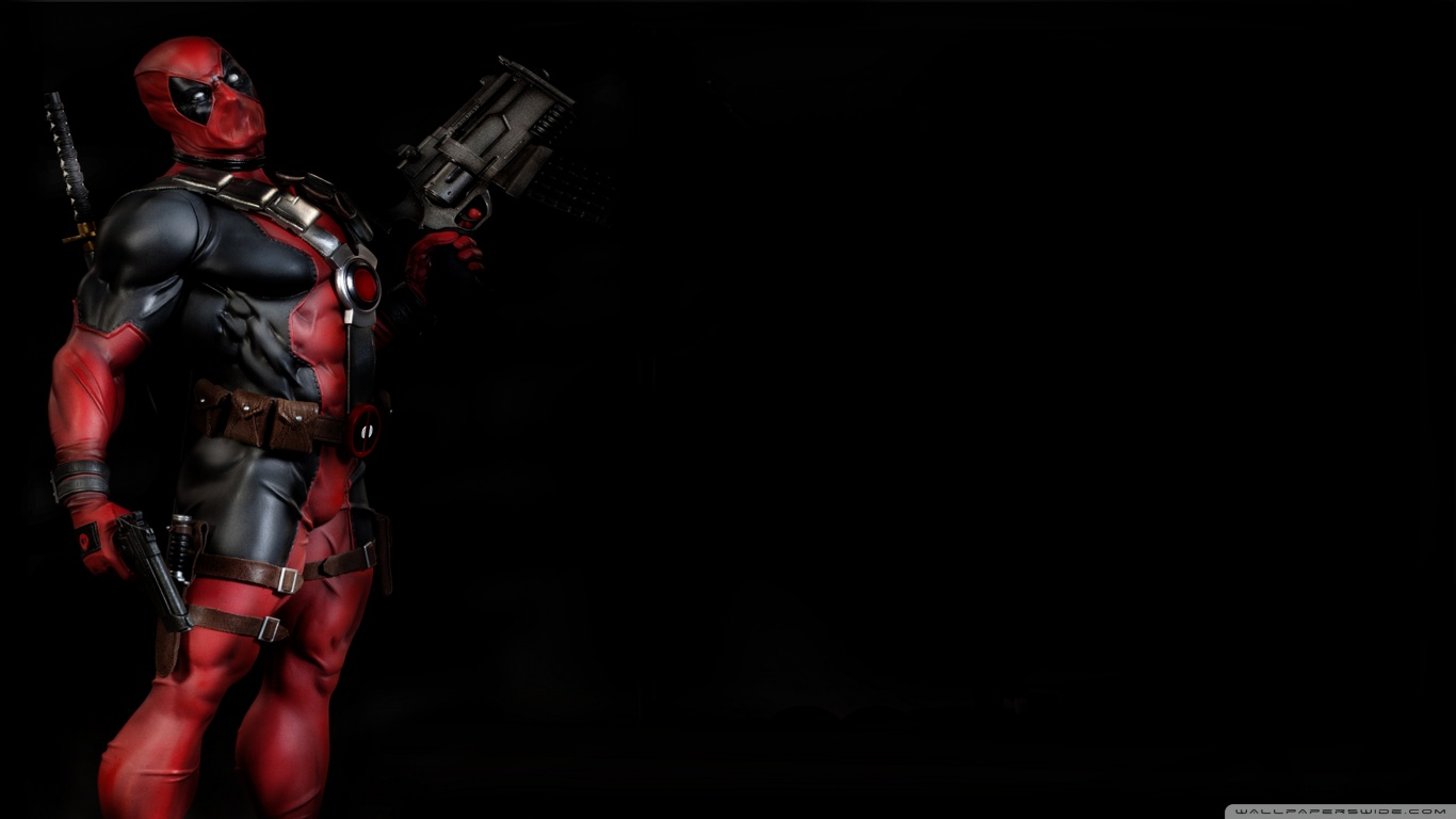 Desktop Deadpool Wallpaper HD   downloadwallpaperorg 1366x768