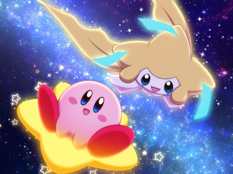 Kirby and Jirachi 3 Chibi Kirby pokemon Kirby character 935x700