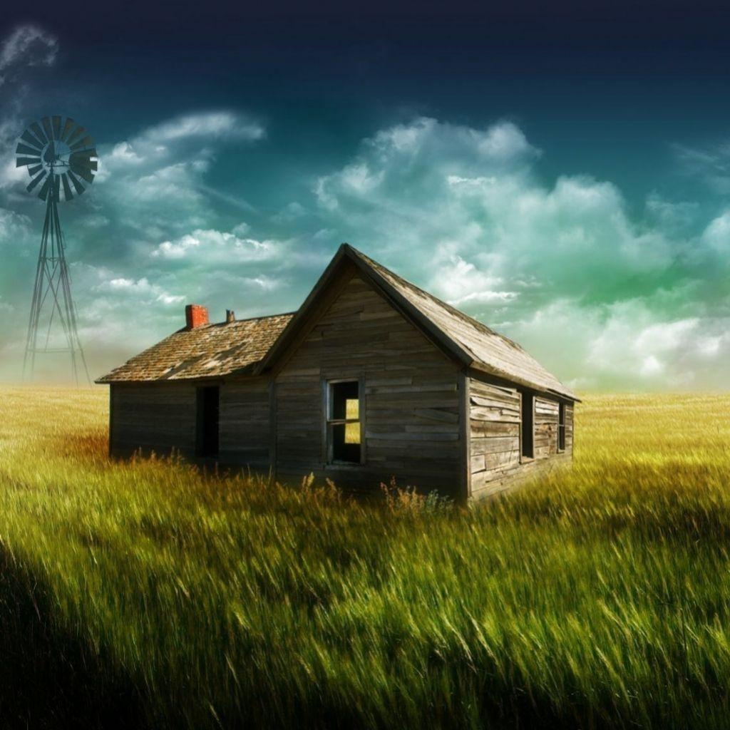 3D Landscape The Old Farm picture nr 42416 1024x1024