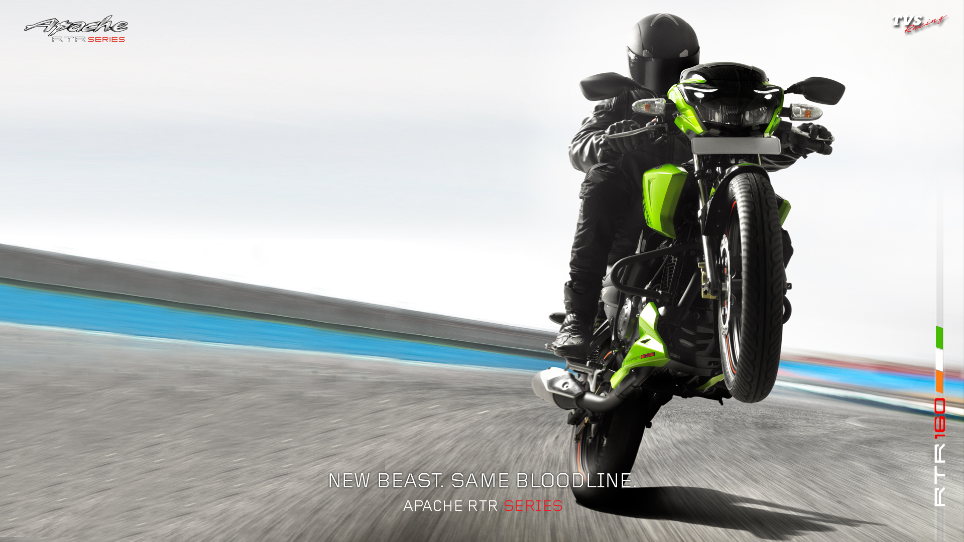 TVS Apache RTR 160   Showing tvs apache rtr 160 widescreen 1920x1080