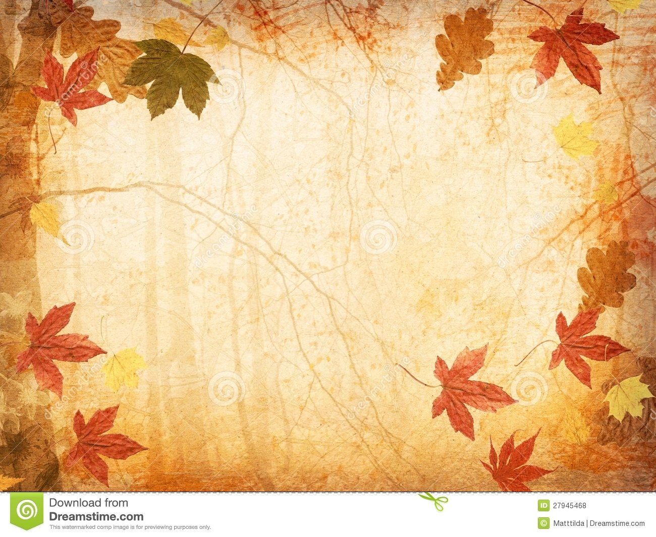Fall Leaf Background - WallpaperSafari