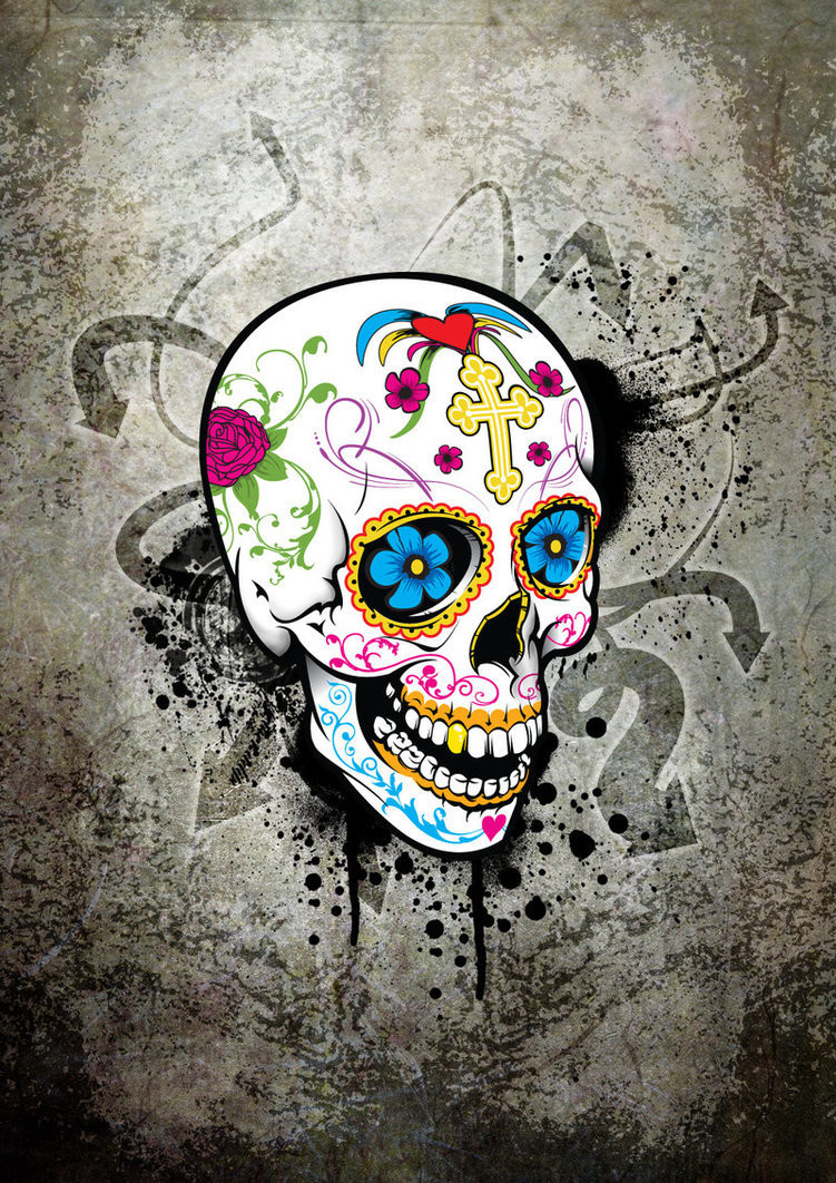 Hipster Skull Backgrounds
