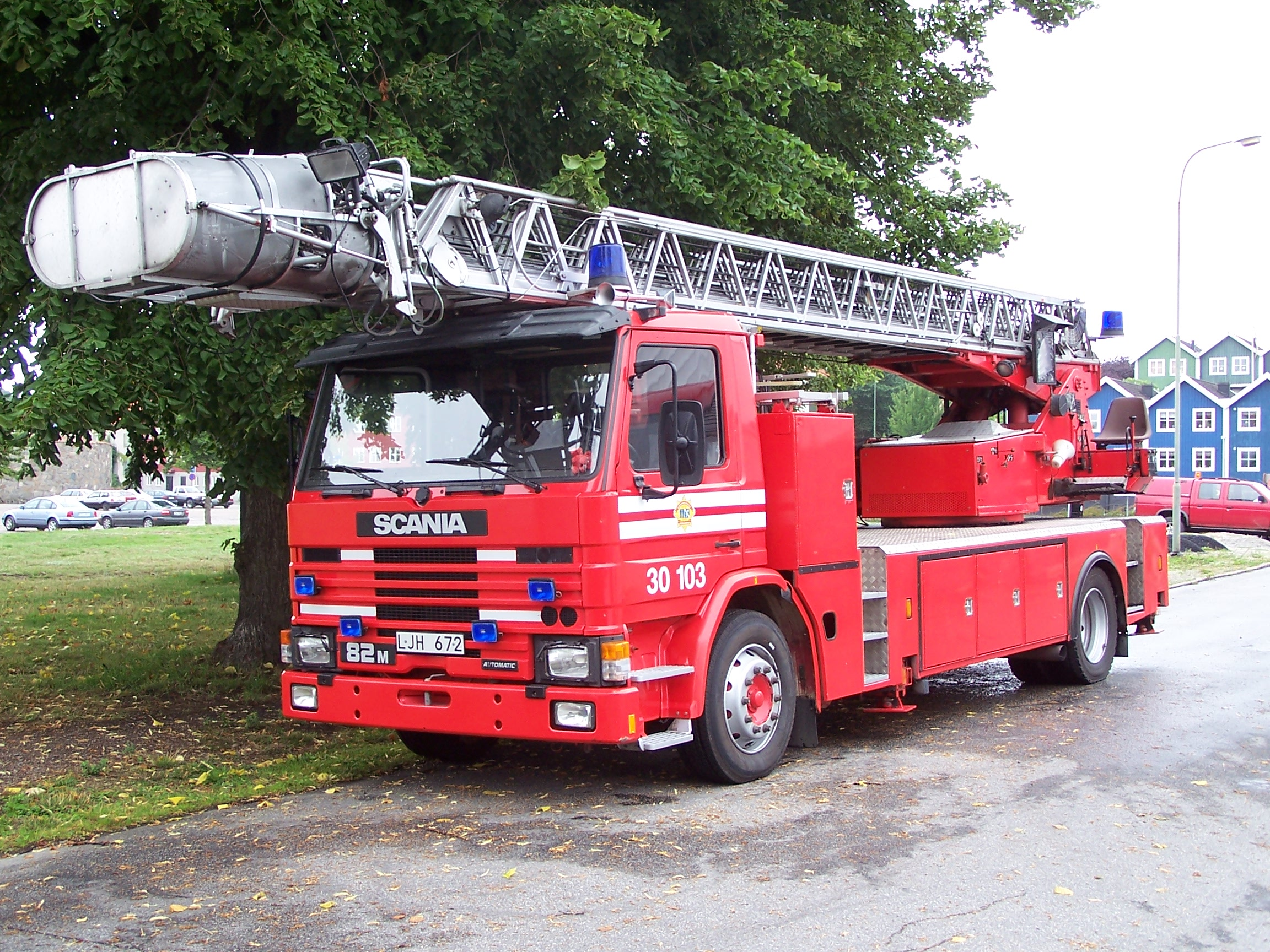 Vehicles   Scania Fire Truck Scania Truck Fire Truck Wallpaper 2304x1728