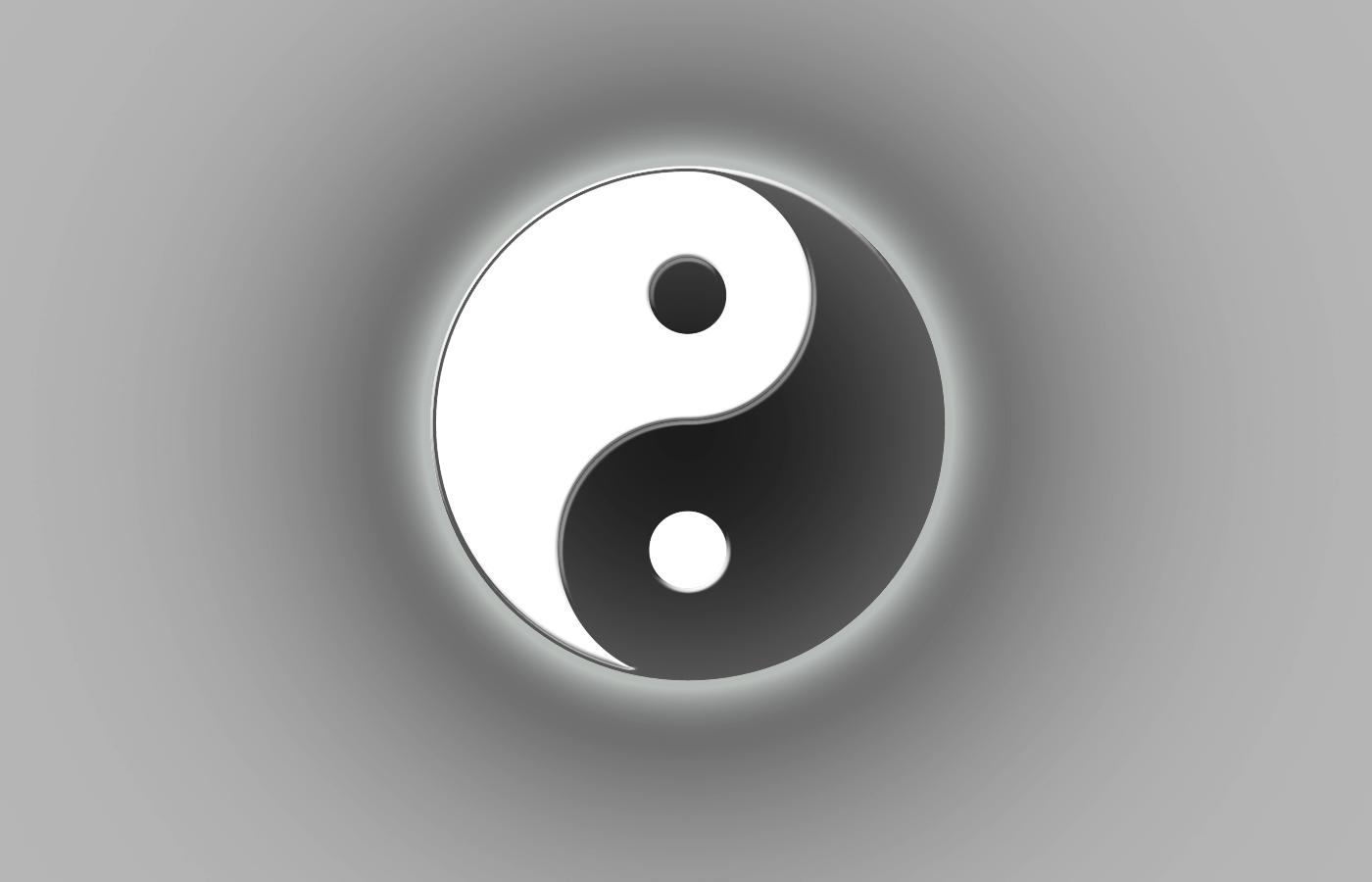ying yang wallpaper wallpapersafari. Black Bedroom Furniture Sets. Home Design Ideas
