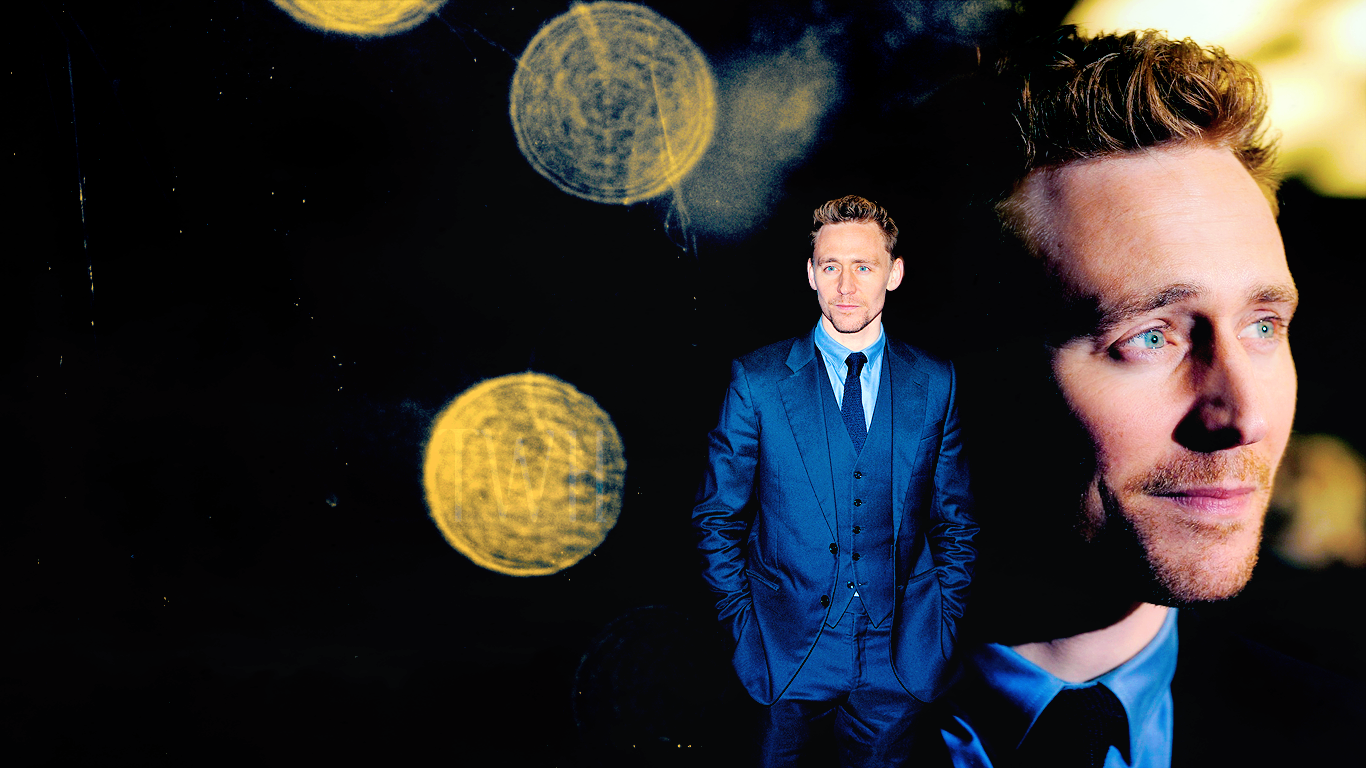 wallpaper tom hiddleston by chiaratippy fan art wallpaper movies tv 1366x768