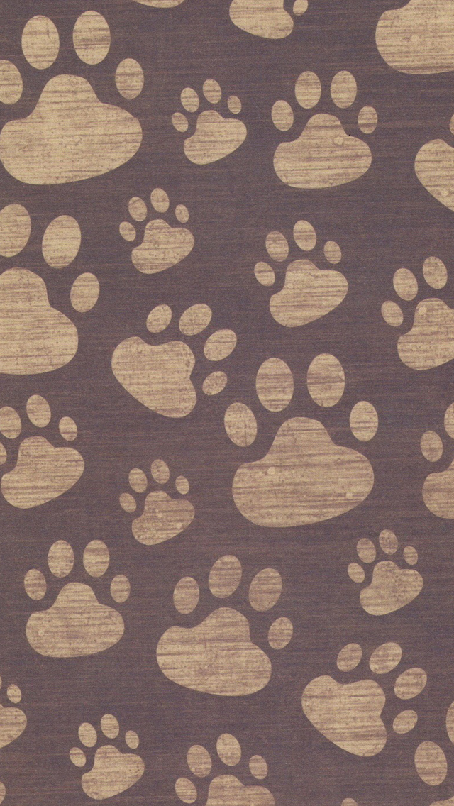 paw print bones wallpaper - photo #25
