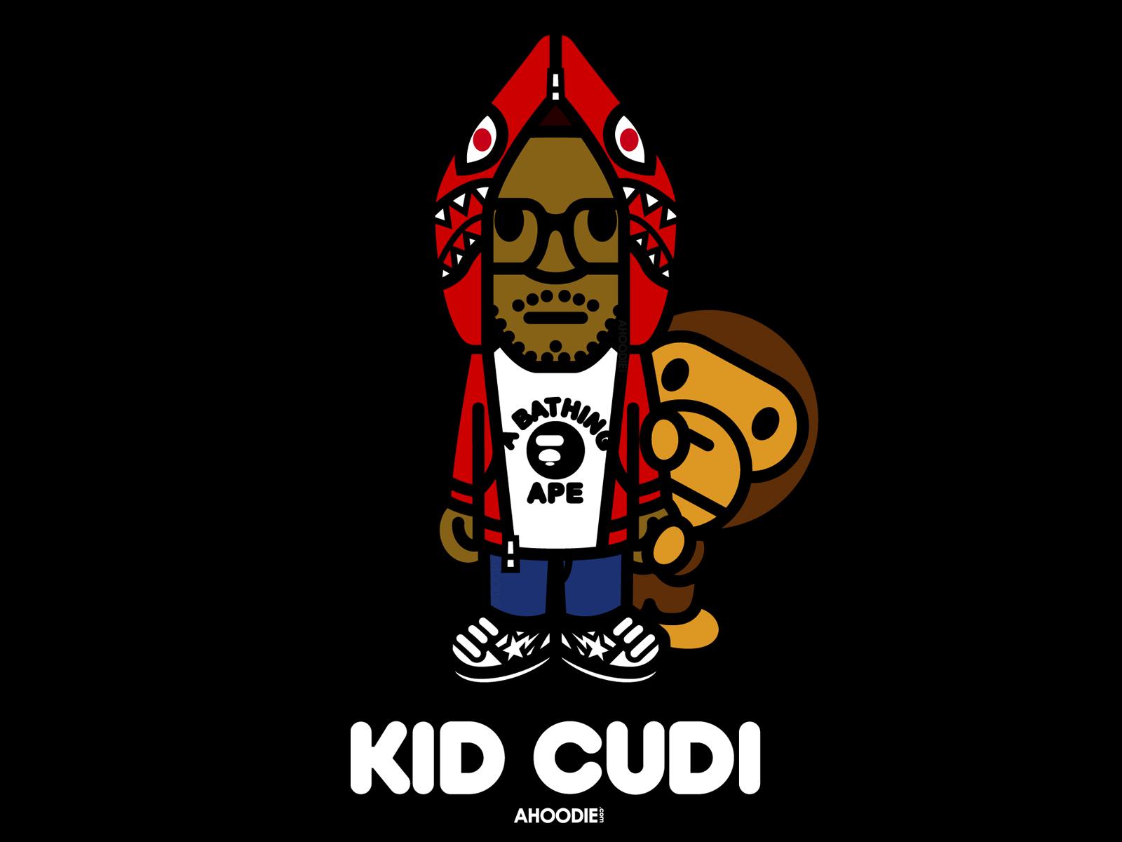 Download Kid Cudi x BAPE Wallpapers Dat New Cudi 1600x1200