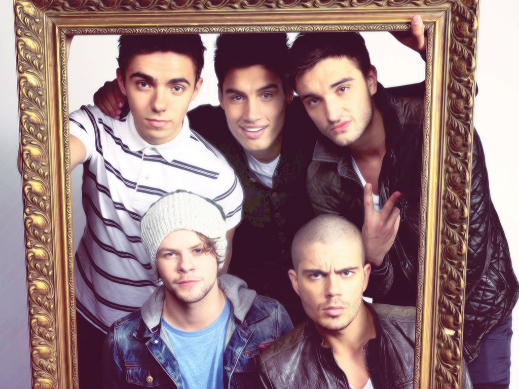Wallpaper The Wanted by SwaggerNialler 1024x768
