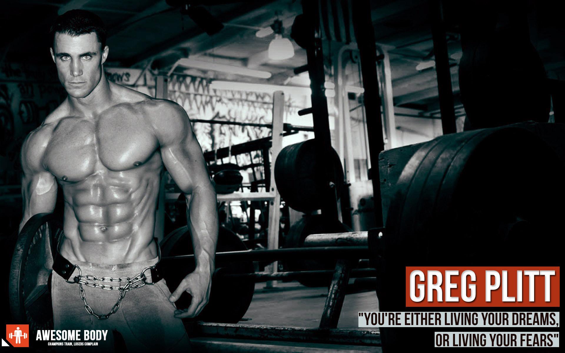 Greg Plitt Poster Fitness Model Actor Motivational wallpaper 1920x1200