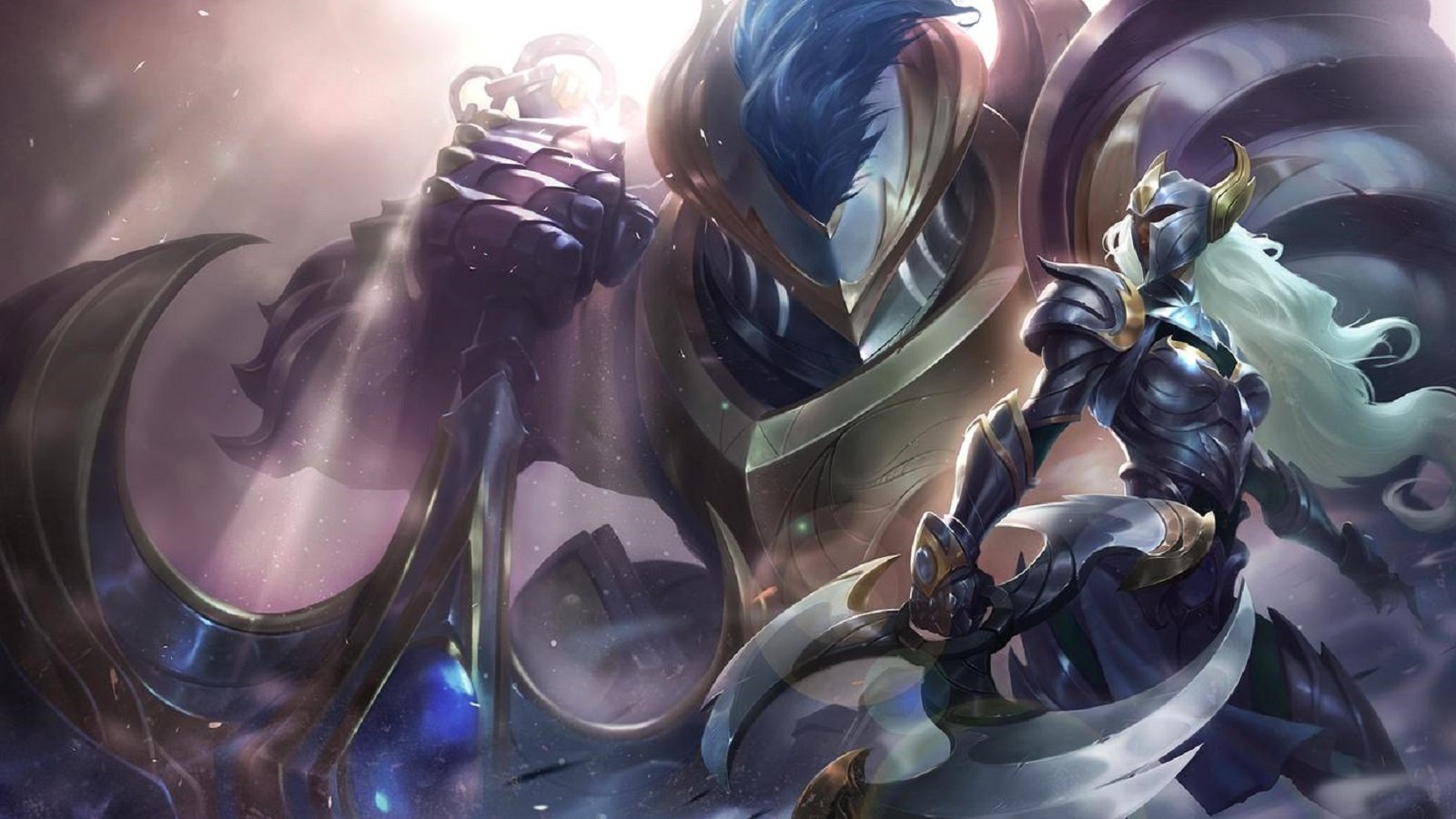 League of Legends Sivir and Nautilus Warden skins wallpaper 1600x900 1600x900