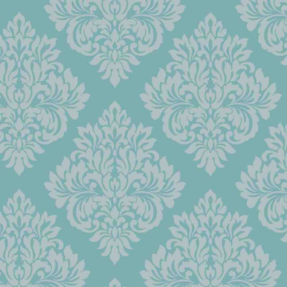 Wallpaper Teal Silver DL40203   Decorline from I love wallpaper UK 1000x1000