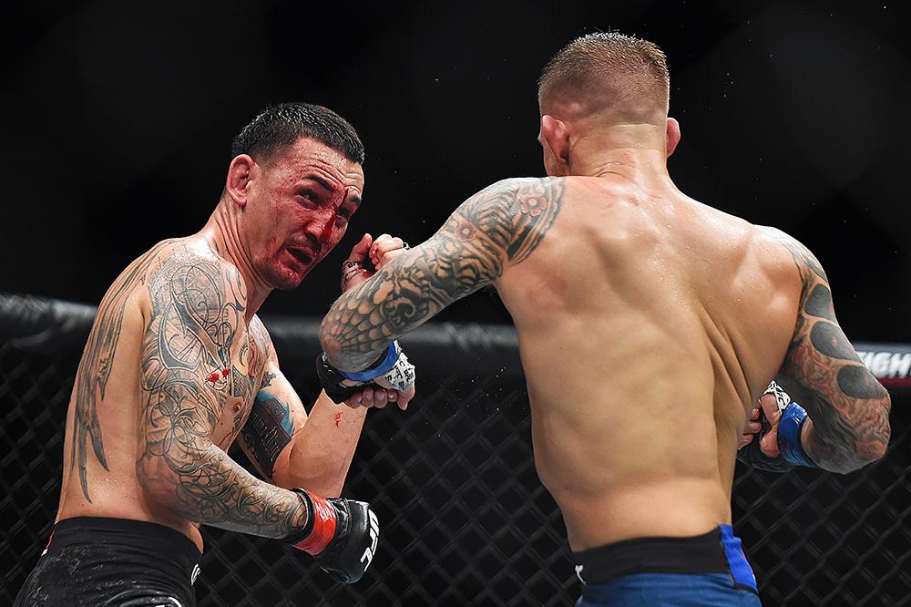 Dustin Poirier def Max Holloway at UFC 236 Best photos MMA Junkie 1000x666