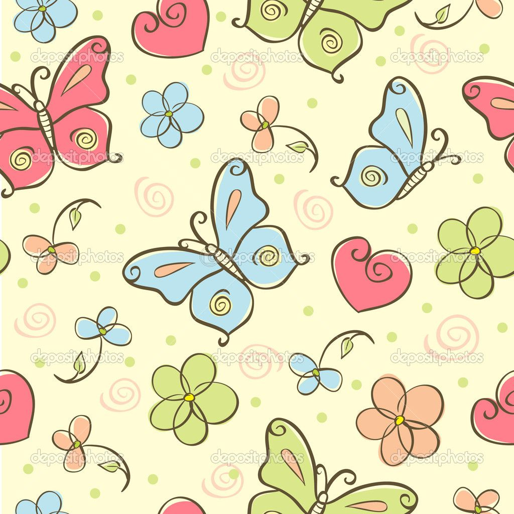 Cute butterfly backgrounds   SF Wallpaper 1024x1024