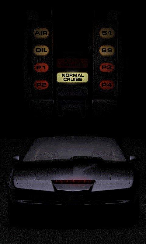 Knight Rider Kitt 480x800