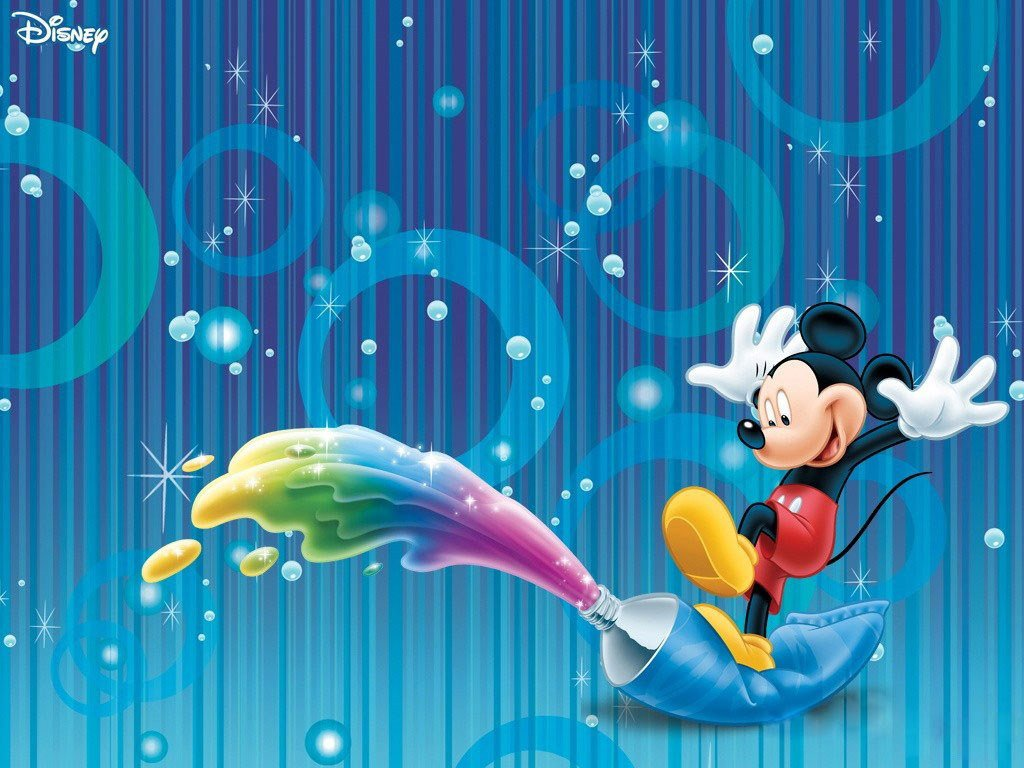 Disney Mickey Mouse Characters Desktop Wallpaper 1024x768