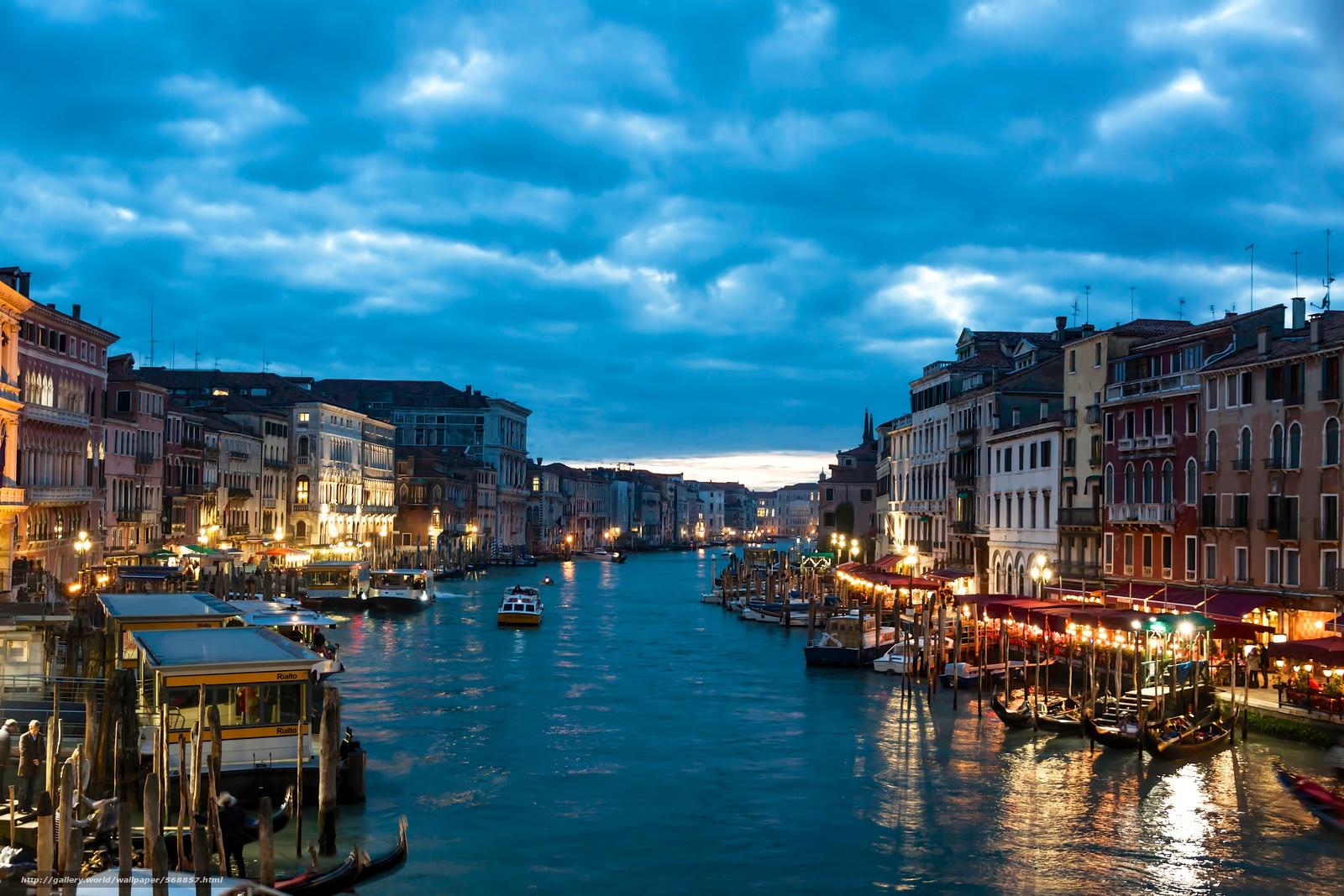 Download wallpaper Venecia Italy city desktop 1600x1067