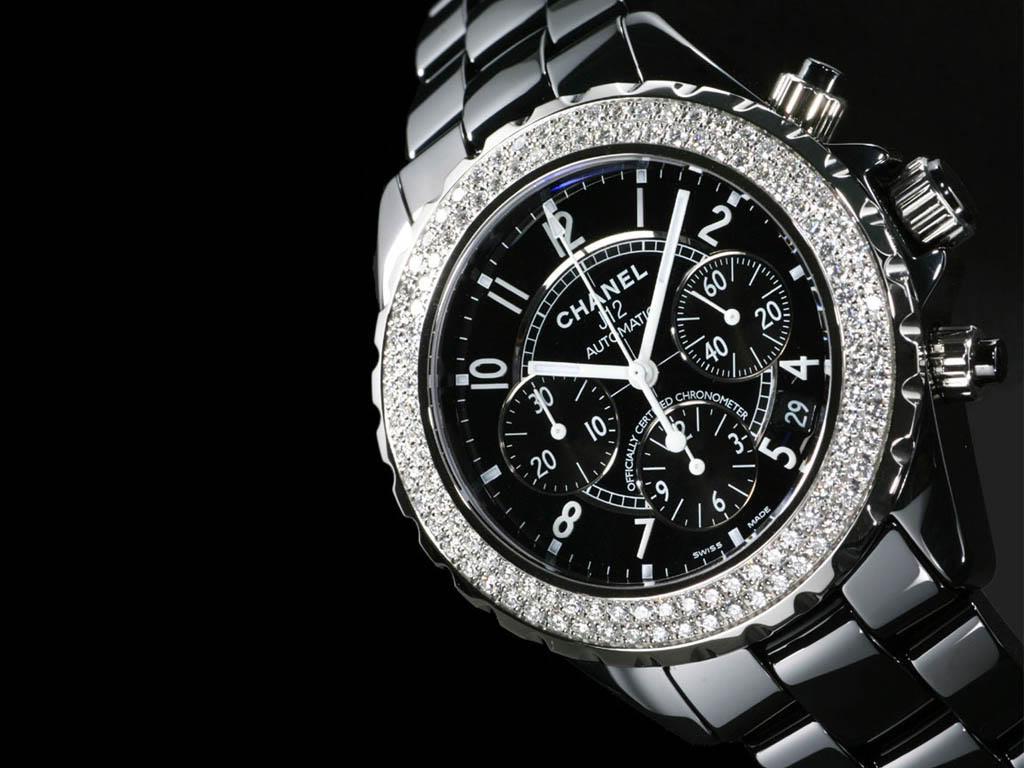 Chanel J12 Black Ceramic Watch 1024x768 Brand Wallpaper Home OF HD 1024x768