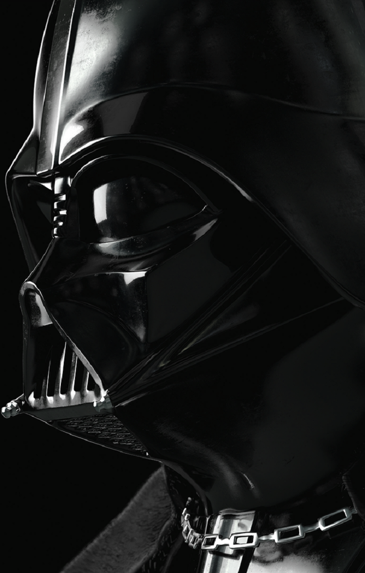 I made a Darth Vader wallpaper from the Star Wars Battlefront 750x1177