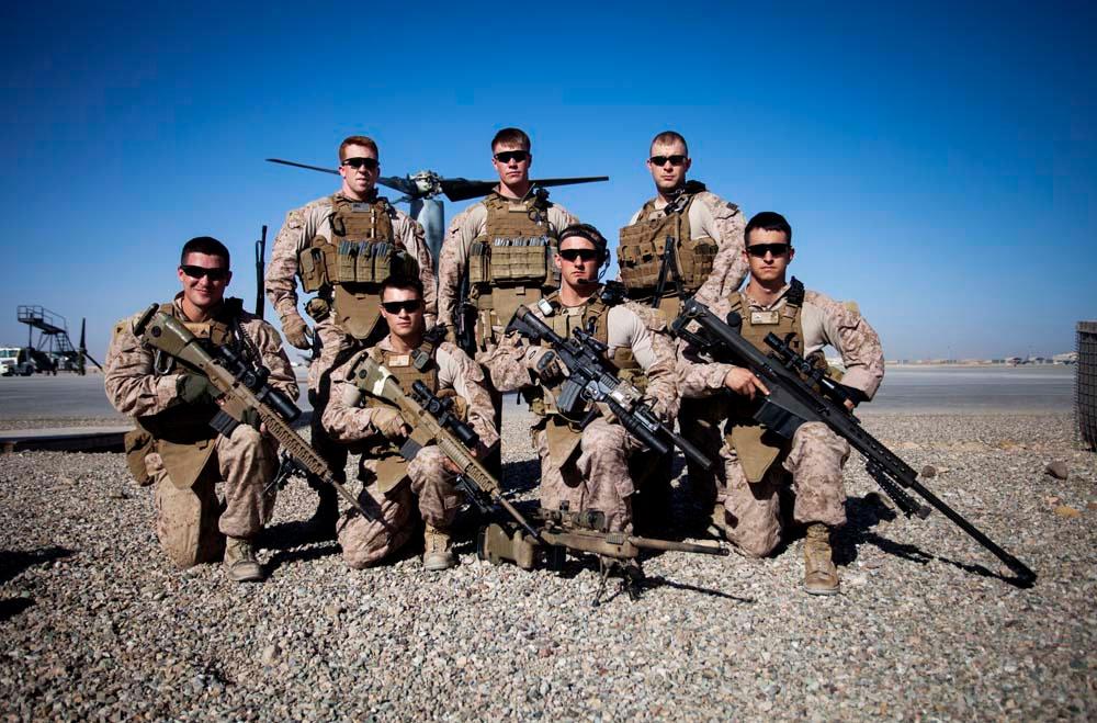 USMC Sniper Wallpaper - WallpaperSafari