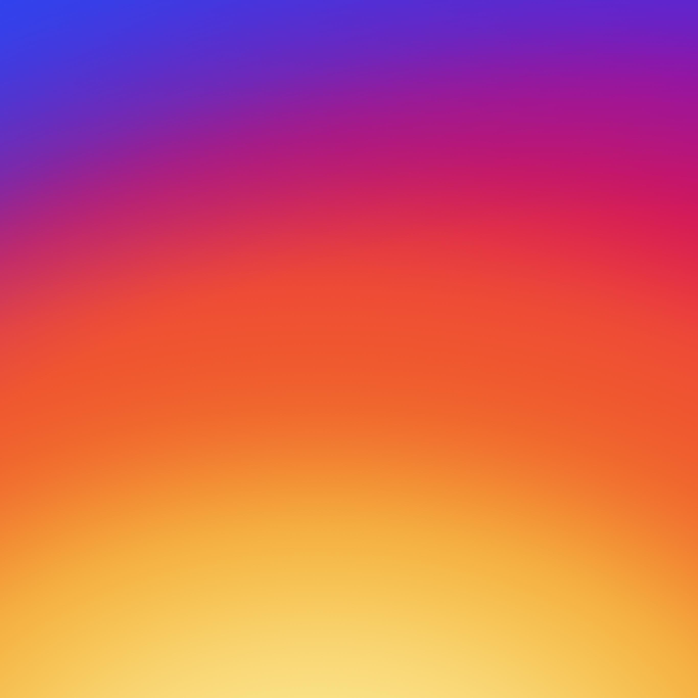 Wallpaper Weekends Instagram Gradient Wallpaper for Mac iPhone 2732x2732