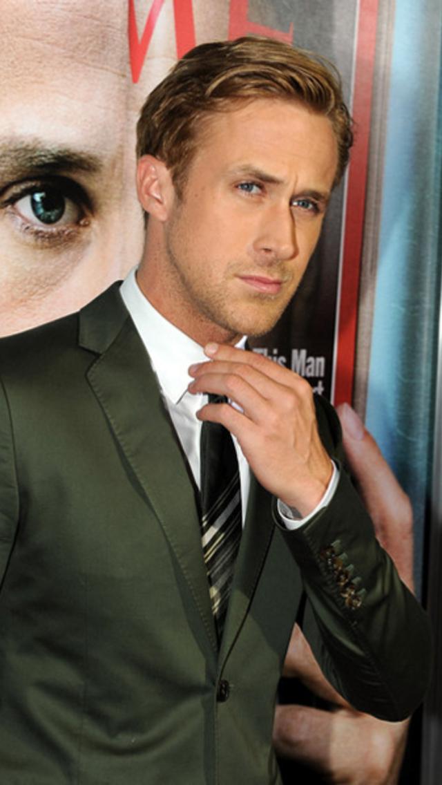 Ryan Gosling Wallpaper for iPhone 5 640x1136