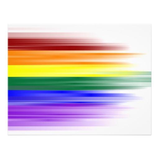 Rainbow Flag Flyer Zazzle 512x512