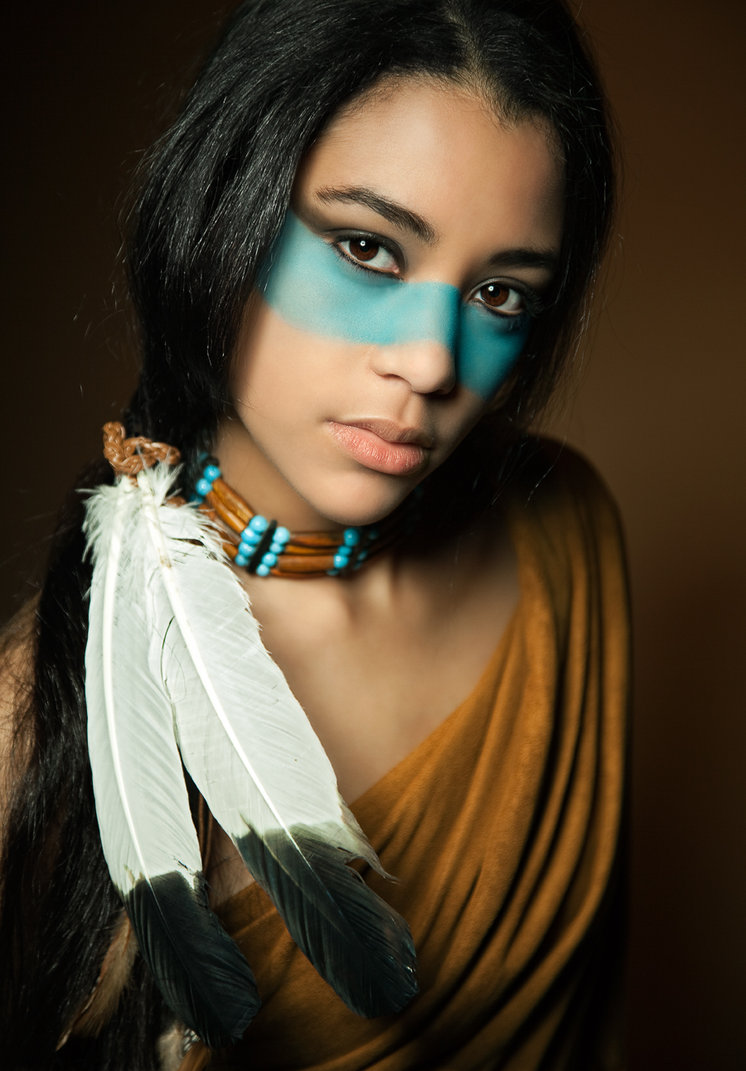 nude south girls american indian